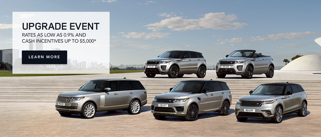Land Rover Upgrade Event Slide